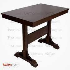Ahşap 4 Kişilik Cafe Masası