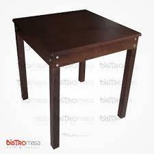 2 Kişilik Ahşap Cafe Masası