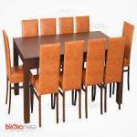 10 Kişilik Cafe Masa Sandalye