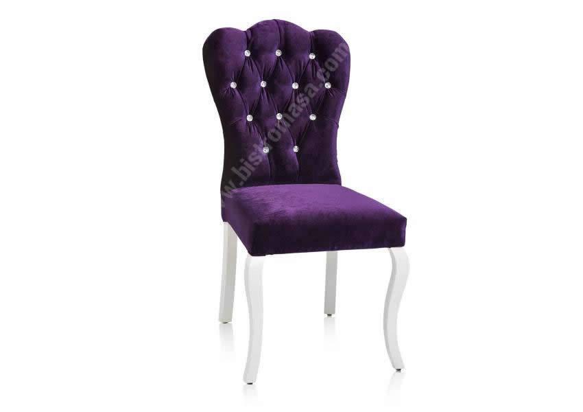 Mor sandalye