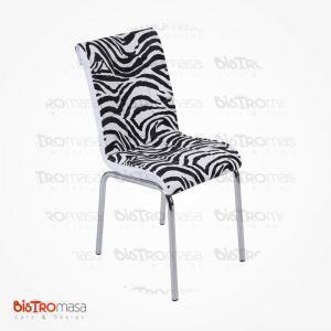 zebra-desenli-petli-sandalye