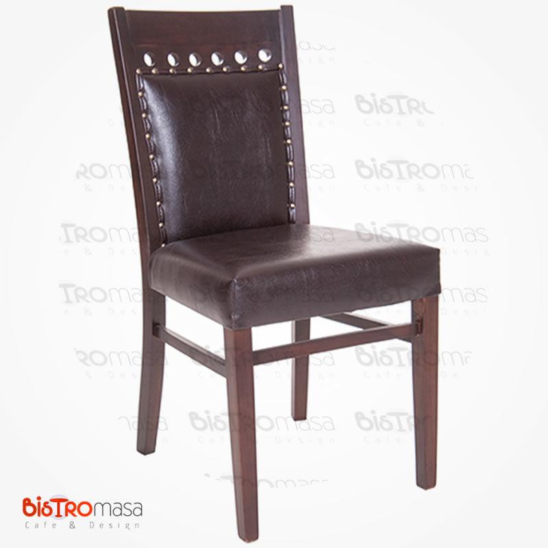 Kahverengi davos sandalye