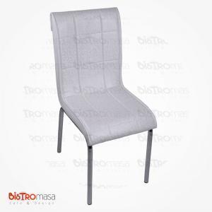 Hanımeli desenli petli sandalye