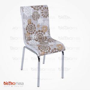 Simge desenli petli sandalye