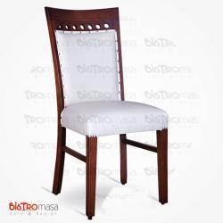Davos beyaz renk sandalye