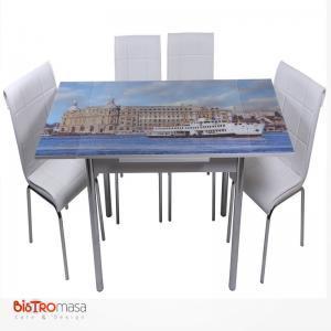 Haydarpaşa desenli mutfak masası