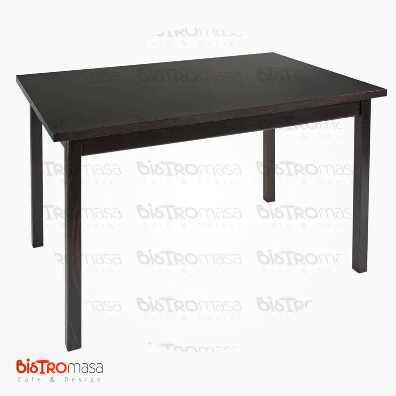 Kahverengi cafe masası