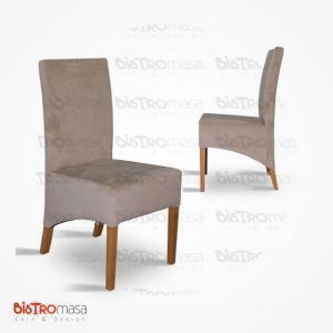 Kahverengi paçalı sandalye