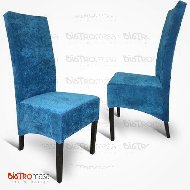 Mavi paçalı sandalye