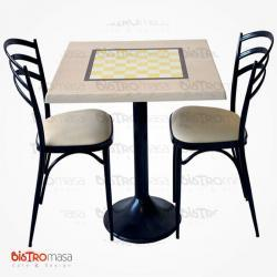 Satranç cafe masa sandalye
