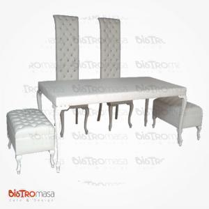 Gelin damat masa sandalye takımı