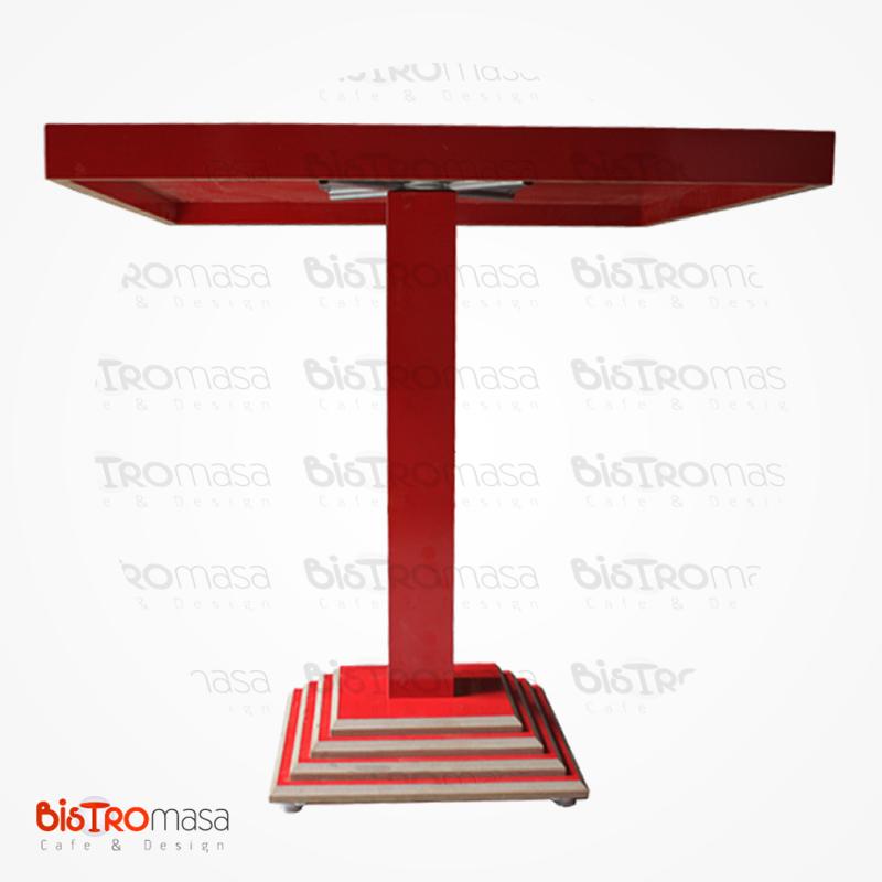 piramit-kırmızı-cafe-masa