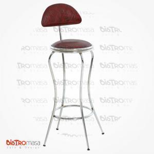 Arkalikli bar sandalyesi