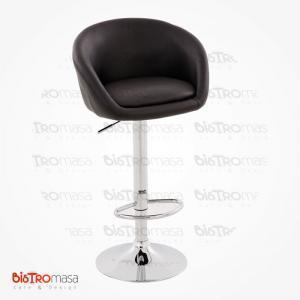 Sırtı kapalı bar sandalyesi