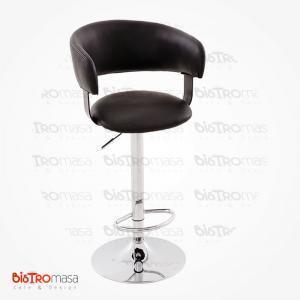 Sırtlı bar sandalyesi