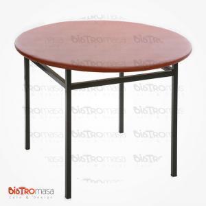 Yuvarlak kahvehane masası