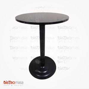 Siyah renk cafe masa