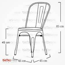Tolix sandalyeölçüleri