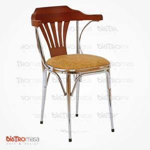 Bello metal kollu cafe sandalye