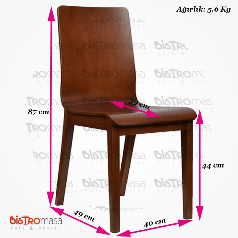 Ahşap monoblok sandalye ölçüleri