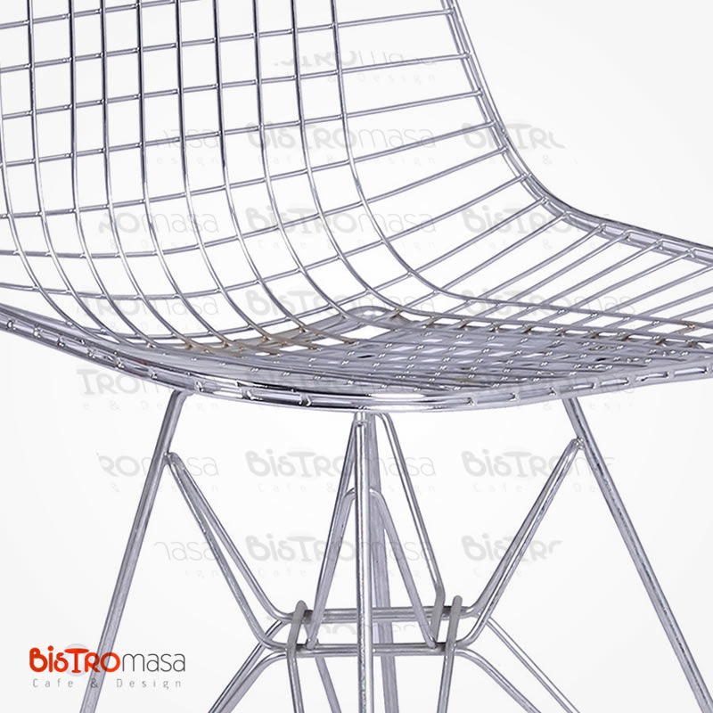 Krom kaplama sandalye