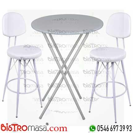 Bistro Masa Sandalye Takımı TBMS001BK